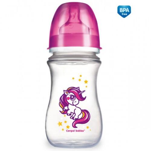 CANPOL Butelka szeroka EasyStart 240 ml symbol - 35/200
