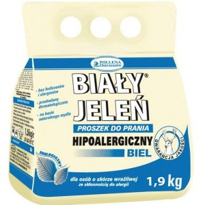 BIAŁY JELEŃ Hipoalergiczny proszek do prania Białego 1,9kg
