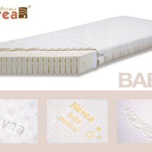 HEVEA Materac lateksowy BABY Aloe Vera 120x60