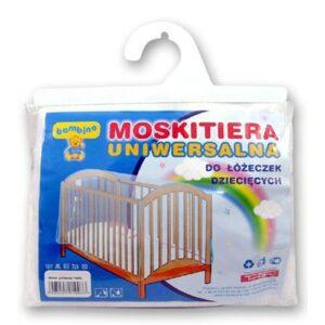 TOPGAL Moskitiera uniwersalna na łóżeczko