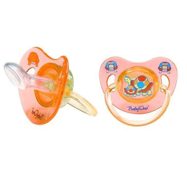 BABY ONO Anatomiczny smoczek silikonowy 0m+ nr. kat 710