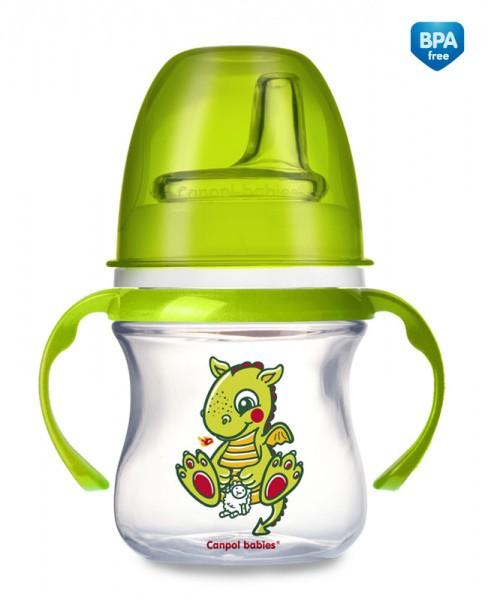 CANPOL Kubek niekapek EasyStart 120 ml Baśnie 35/101