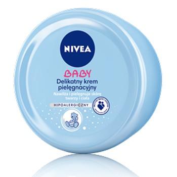 NIVEA BABY Delikatny krem pielęgnacyjny 200 ml