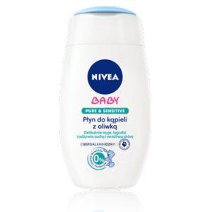 NIVEA BABY Pure&Sensitive Płyn do kąpieli z oliwką 200 ml