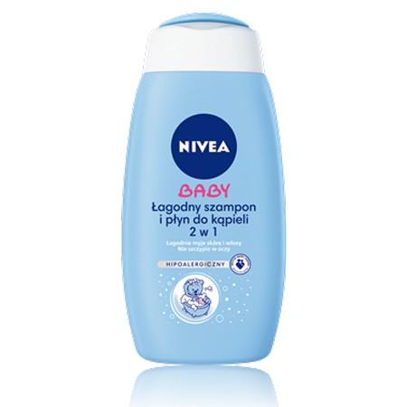 NIVEA BABY Łagodny szampon i płyn do kąpieli 2w1 500 ml