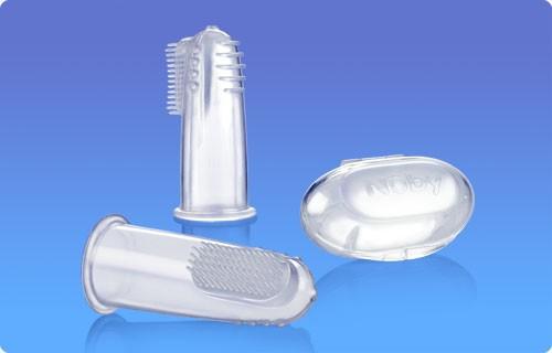 NUBY Szczoteczka do masowania dziąseł i czyszczenia ząbków