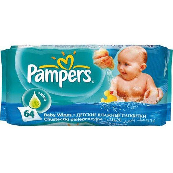 PAMPERS Chusteczki nawilżane Baby Fresh 64 szt.
