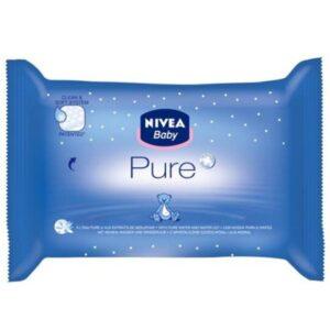 NIVEA BABY Chusteczki nawilżane Pure 63szt.