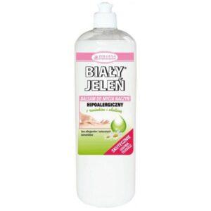BIAŁY JELEŃ Hipoalergiczny balsam do mycia naczyń z rumiankiem i alantoiną 1l