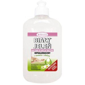 BIAŁY JELEŃ Hipoalergiczny balsam do mycia naczyń z rumiankiem i alantoiną 500ml