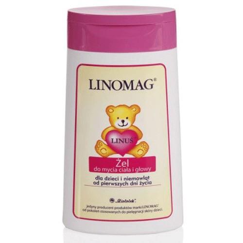 LINOMAG Żel do mycia ciała i głowy 200ml
