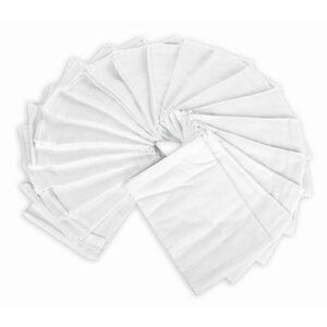 KIECZMERSCY Pieluchy flanelowe białe 70x80cm