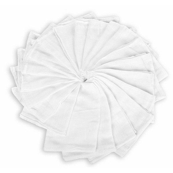 KIECZMERSCY Pieluchy tetrowe białe 70x80