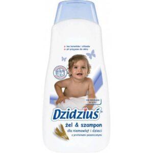 DZIDZIUŚ Hipoalergiczny żel i szampon 500 ml