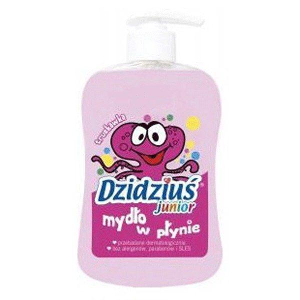 DZIDZIUŚ Mydło w płynie Junior o zapachu truskawki 300 ml