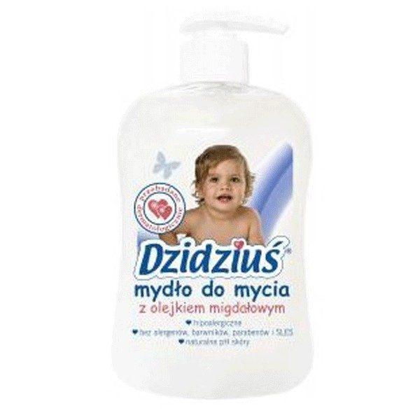 DZIDZIUŚ Mydło w płynie z olejkiem migdałowym 300 ml