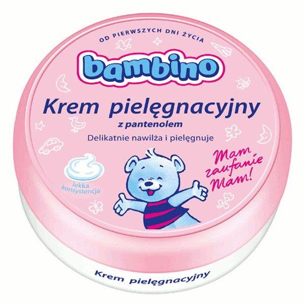 BAMBINO Krem pielęgnacyjny z pantenolem dla dzieci i niemowląt 200ml