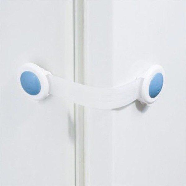 BABY ONO Zabezpieczenie uniwersalne 953/01 białe do szafek, lodówek, toalet