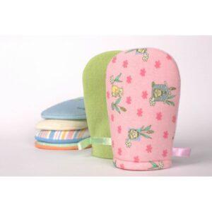 BADUM Rękawica frotowa do mycia dzieci i niemowląt