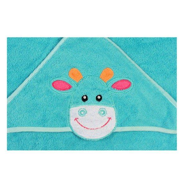 BABY ONO Okrycie kąpielowe z kapturem 170 76x76 cm