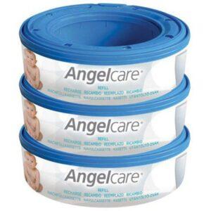 ANGELCARE Wymienny wkład do pojemnika na zużyte pieluchy 3szt.