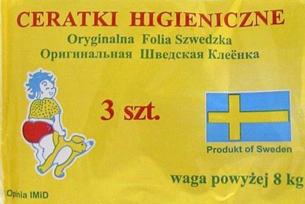 HORIZON Ceratki higieniczne wiązane do 8 kg - 3 szt.