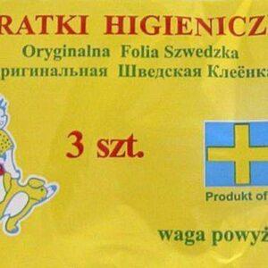 HORIZON Ceratki higieniczne wiązane powyżej 8 kg - 3 szt.