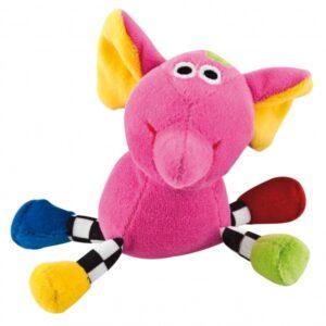 CANPOL Welurowa zabawka dźwiękowa Zwariowane zwierzątka 2/284