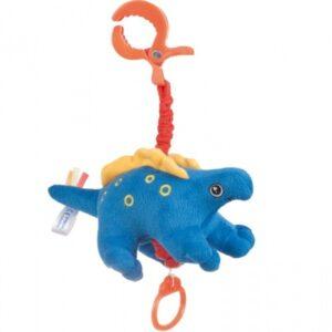 CANPOL Pluszowa zabawka z pozytywką Dinozaury 71/006