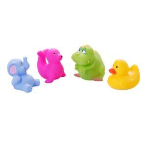 BABY ONO Zabawki do kąpieli zwierzęta małe 4 szt. 866