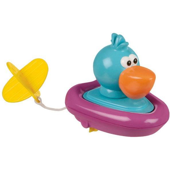 SASSY Zabawka do kąpieli Zwierzątko w łodzi Pelikan/Pingwin S-10025