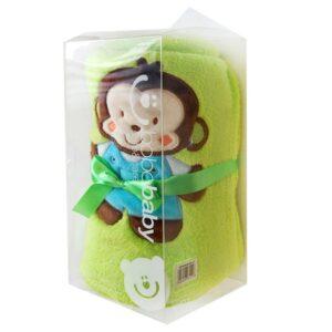 BOBOBABY Kocyk z mikrofibry rulon 76x102 cm KCSN-27 gift box