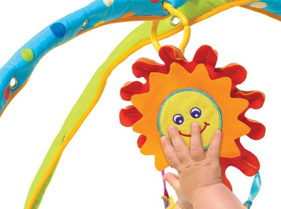 TINY LOVE Mata Gimnastyka dla bobasa Słoneczny Dzień