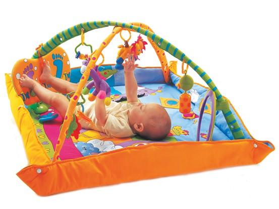 TINY LOVE Mata Gimnastyka dla bobasa z pałąkami Plac zabaw