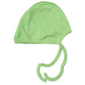 MAKS Czapeczka niemowlęca wiązana gładka S,M,L,XL