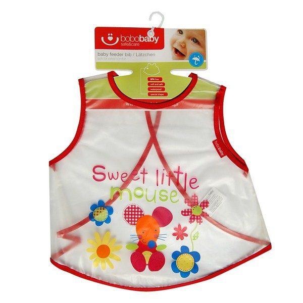 BOBOBABY Śliniak S-F5 L dla dzieci 1szt. 36m+