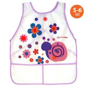BOBOBABY Śliniak fartuch S-F10 Large dla dzieci 1szt. 5L+