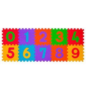 BABY ONO Puzzle piankowe Cyfry 274 10 szt.
