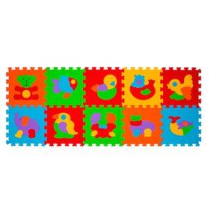 BABY ONO Puzzle piankowe ZWIERZĘTA 276 10 szt.
