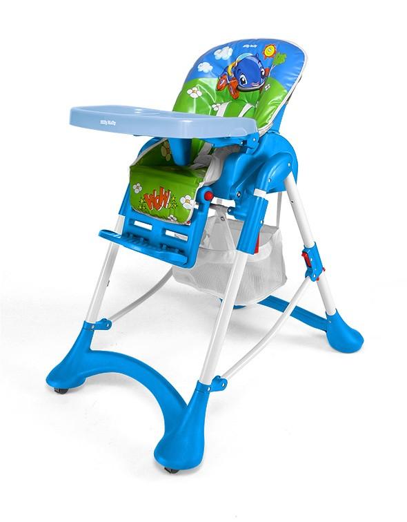 MILLY MALLY ACTIVE Krzesełko do karmienia dzieci 6-36 miesięcy