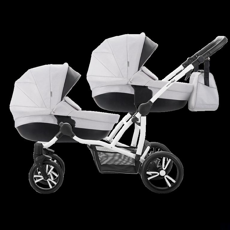 BEBETTO 42 Wózek dla bliźniąt lub rok po roku