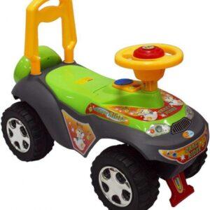 BABY MIX Pojazd jeździdełko dla dzieci UR-7600 z dźwiękiem zielony