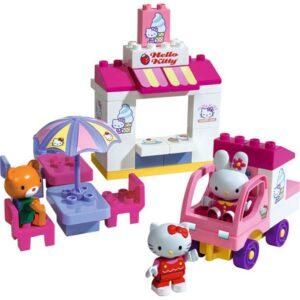 PLAYBIG BLOXX Klocki Hello Kitty Lodziarnia 800057014