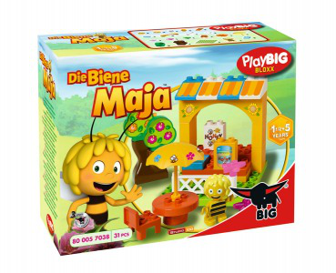 PLAYBIG BLOXX Klocki Pszczółka Maja Stragan z miodem 800057038