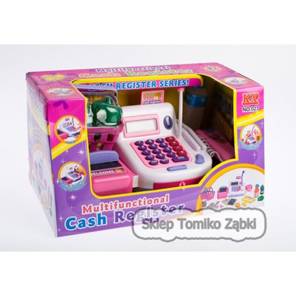 MEGA CREATIVE Kasa sklepowa z kalkulatorem i akcesoriami 023 WB 9/18