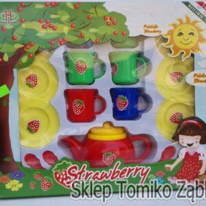 MEGA CREATIVE Truskawkowy zestaw herbaciany do zabawy CHT22621I36