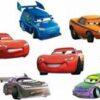 DISNEY Dekoracja ścienna dla dzieci Zestaw Cars SRCR-14001
