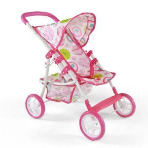 MILLY MALLY Wózek dla lalek Natalia różowy
