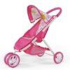 MILLY MALLY Wózek dla lalek Zuzia różowy