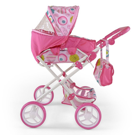 MILLY MALLY Wózek dla lalek Paulina różowy